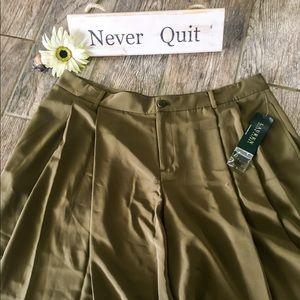 Lauren Ralph Olive Green Shorts